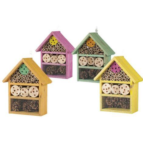 Maison pour insectes - lot de 4 - Astuceo
