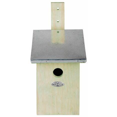 Maison pour oiseaux nichoir pour moineau étourneaux - noir