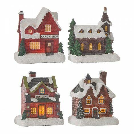 Maisonnette de noel plusieurs modeles.