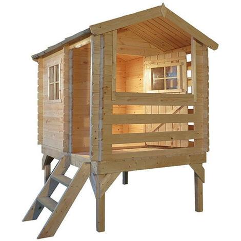 """main image of """"Maisonnette en Bois Outdoor Toys Maya - 181x146x205 cm - 2,6 m²"""""""