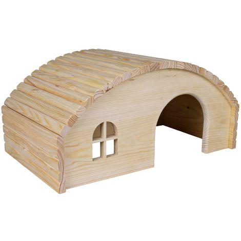 Maisonnette en bois pour lapins - 42 × 20 × 25 cm