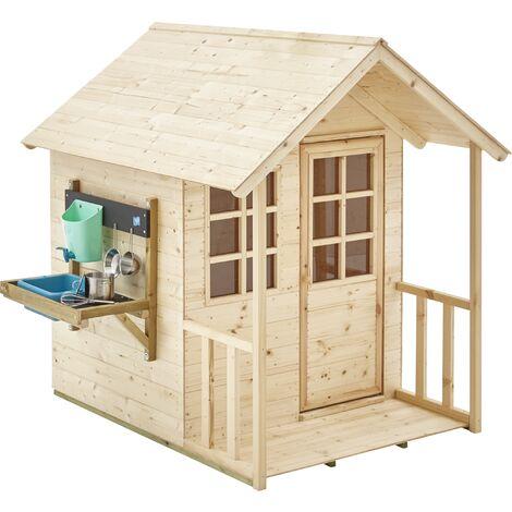 """main image of """"Maisonnette enfant en bois avec cuisine extérieure Cottage"""""""