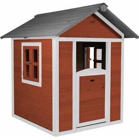 Maisonnette enfant en bois Lodge - Gris