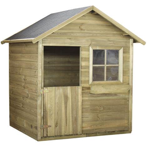 Maisonnette enfant MATEUSZ en bois