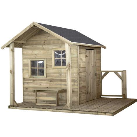 Maisonnette enfant OLA avec terrasse