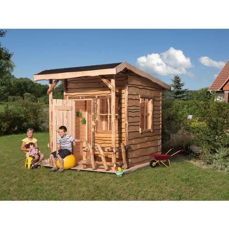 Maisonnette pour enfants Mecki, disponible avec ou sans terrasse