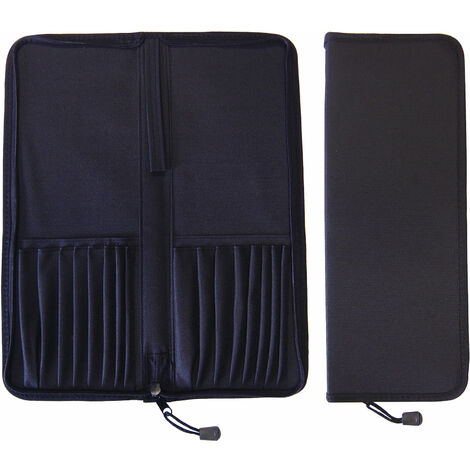 Major Brushes Zipped Folding Case for Up to 16 Brushes