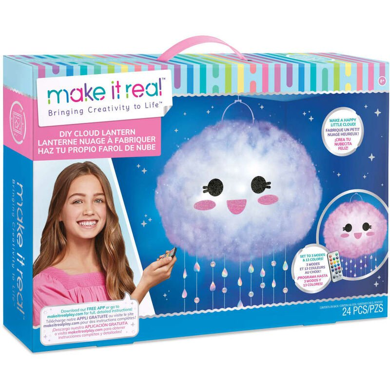 Image of make it real DIY Floating Cloud Light - Multicolour