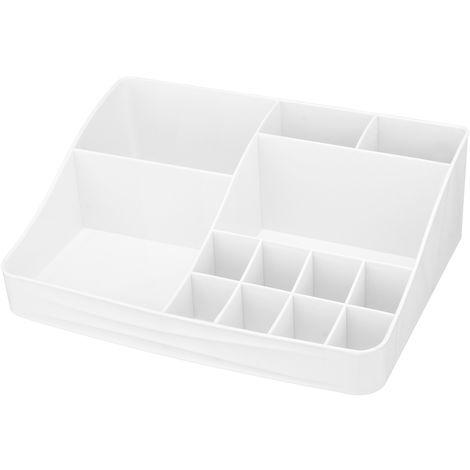 Makeup Box 20 Grids Jewelry Display Storage Box 2 layers drawers