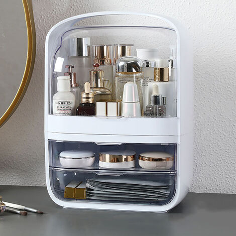 Makeup Cosmetic Bathroom Organiser with Drawer Case