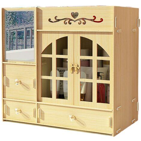 Makeup Organizer Cosmetic Storage Box Drawer Case