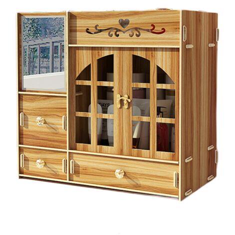 """main image of """"Makeup Organizer Cosmetic Storage Box Drawer Case"""""""