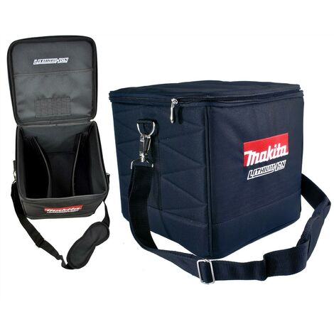 "Makita 10"" 225mm Canvas Nylon Cube Bag Tool Bag Toolbox Toolbag + Shoulder Strap"