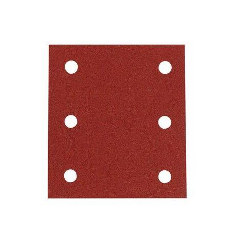 MAKITA 10 Feuilles rectangulaires abrasives 114x102 mm