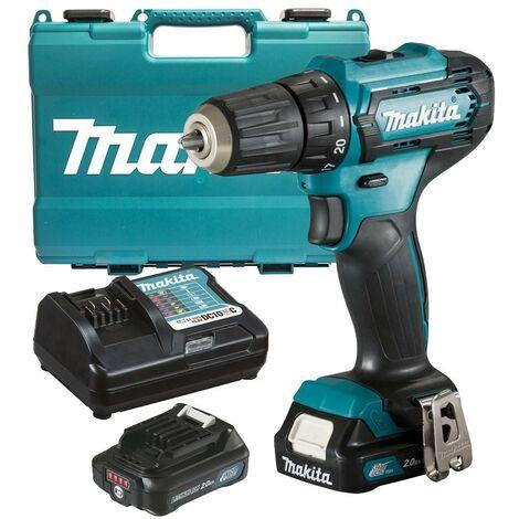 Makita 12V Max CXT Drill Driver 10.8V 2 x 2.0Ah Batteries & Charger DF333DWAE