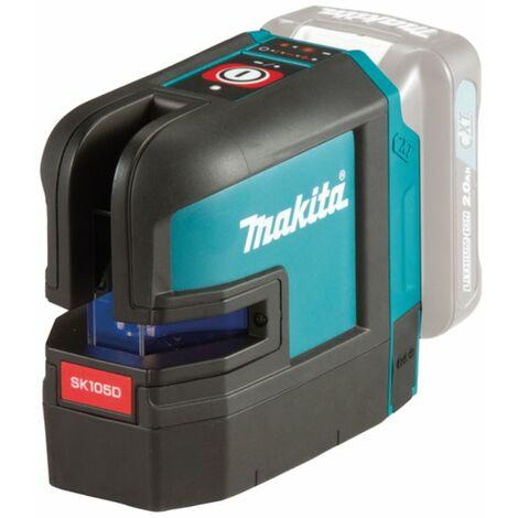 Makita 12V max. Laser en croix ? piles SK105DZ rouge | sans piles et sans chargeur