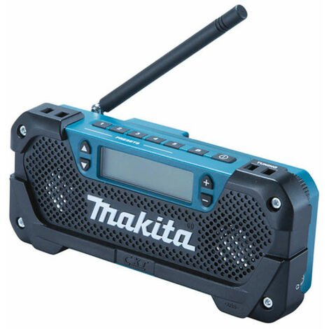 MAKITA 12V site radio without battery and charger DEAMR052