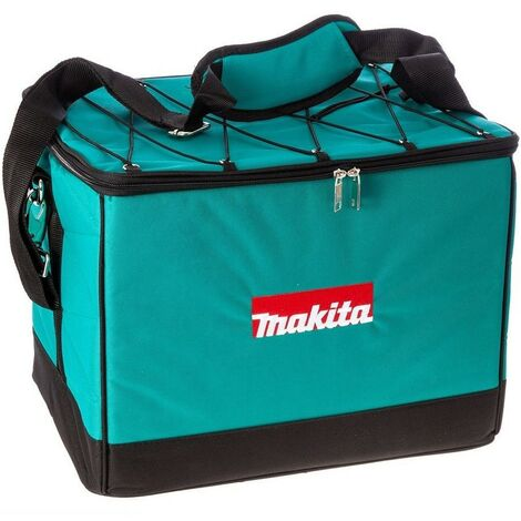 """Makita 16"""" 41cm Canvas Nylon Hard Base Tool Bag Toolbox Toolbag + Shoulder Strap"""