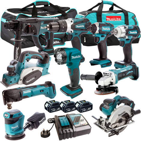 Makita 18V 10 Piece Cordless Kit T4TKIT-309:18V