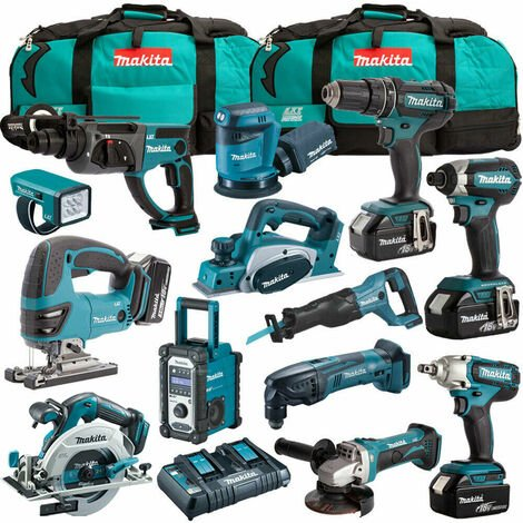 Makita 18V 13 Piece Cordless Kit T4TKIT-1232