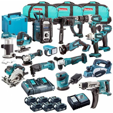 Makita 18V 16 Piece Cordless Kit T4TKIT-700:18V