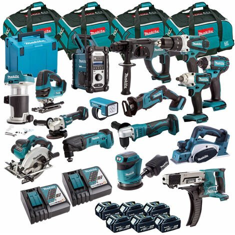 Makita 18V 16 Piece Diamond Cordless Kit T4TKIT-701:18V