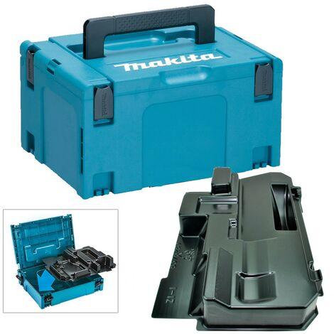 Makita 18v 165mm Circular Saw Makpac Tool Case + Inlay for BSS500 BSS501 BCS550
