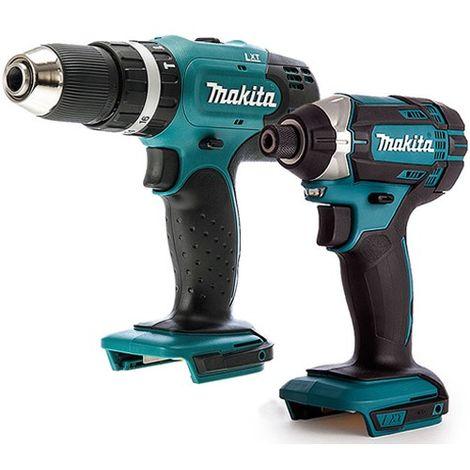 Makita 18V 2 Piece Impact Driver & Combi Drill Cordless T4TKIT-672