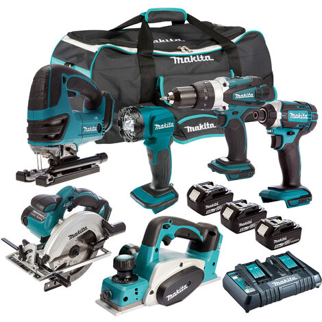 Makita 18V 6 Piece Cordless Kit T4TKIT-221