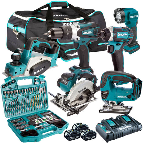 Makita 18V 6 Piece Cordless Kit T4TKIT-222
