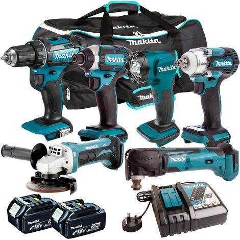 Makita 18V 6 Piece Cordless Kit T4TKIT-300:18V