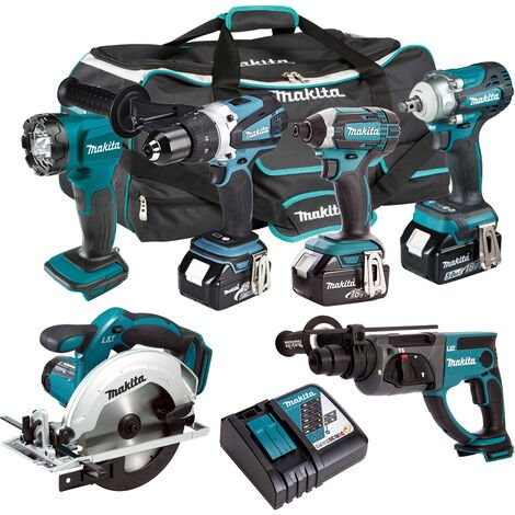 Makita 18V 6 Piece Cordless Kit T4TKIT-301:18V