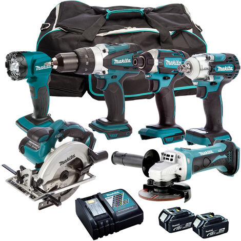Makita 18V 6 Piece Cordless Kit T4TKIT-304:18V
