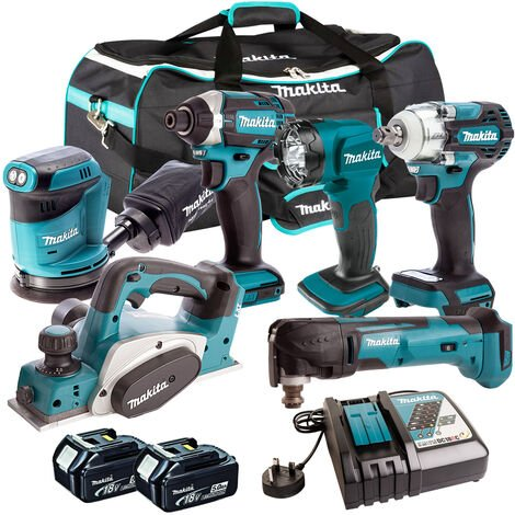 Makita 18V 6 Piece Cordless Kit T4TKIT-305:18V