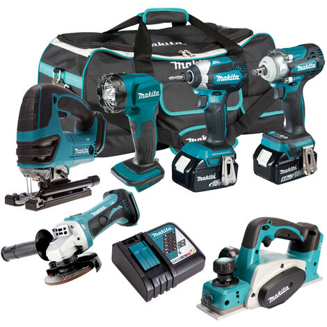 Makita 18V 6 Piece Cordless Kit T4TKIT-306:18V