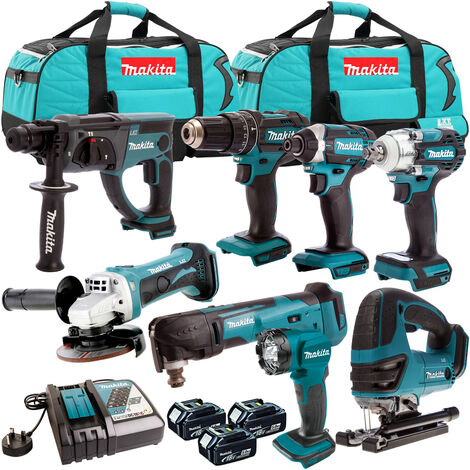Makita 18V 8 Piece Cordless Kit T4TKIT-307:18V