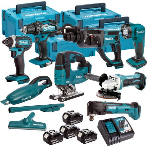 Makita 18V 8 Piece Cordless Kit T4TKIT-618:18V