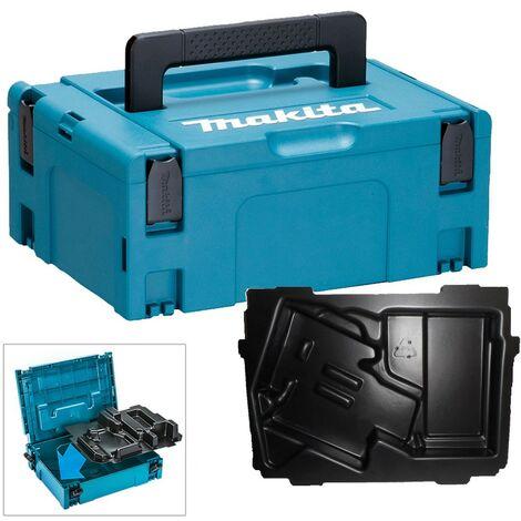 Makita 18v Angle Drill Makpac Tool Case + Inlay for BDA340 BDA341 BDA350 BDA351