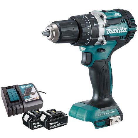 Makita 18V Combi Drill Brushless Cordless T4TKIT-470:18V
