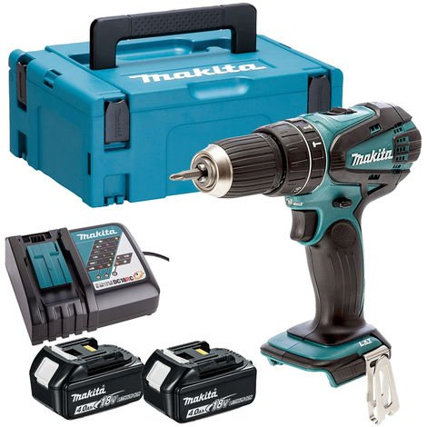 Makita 18V Combi Hammer Drill Cordless T4TKIT-516:18V