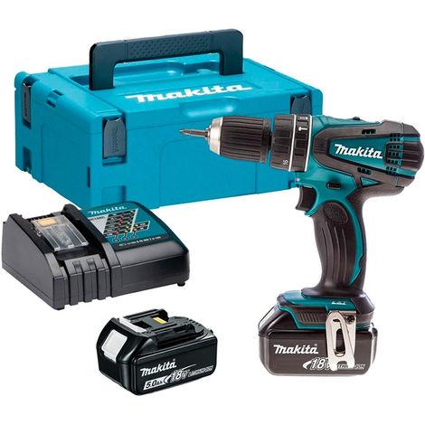 Makita 18V Combi Hammer Drill Cordless T4TKIT-520:18V