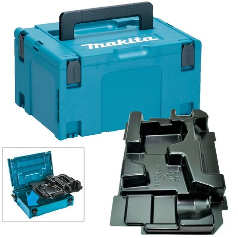 Makita 18v Cordless Impact Wrench Makpac Tool Case + Inlay for DTW450 DTW1001