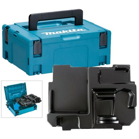 Makita 18v Cordless Orbital Sander Makpac Tool Case with Inlay for DBO180 DBO140