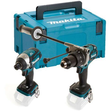 Makita 18V DLX2176 Lithium Brushless Kit DHP481 Drill DTD154 Impact Bare +Makpac