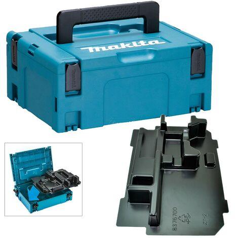 Makita 18v Impact Driver Makpac Tool Case +Inlay for DTD152 DTD153 DTD155 DTD171
