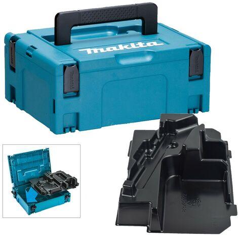 Makita 18v Mini Reciprocating Saw Makpac Tool Case and Inlay for DJR185 DJR183
