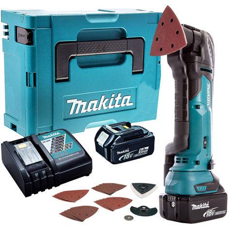 Makita 18V Oscillating Multi Tool Cutter Cordless T4TKIT-47