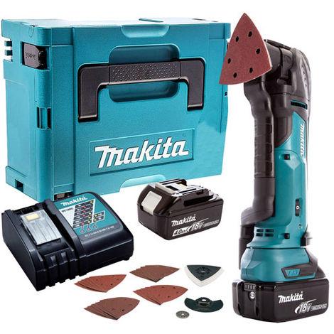Makita 18V Oscillating Multi Tool Cutter Cordless T4TKIT-49