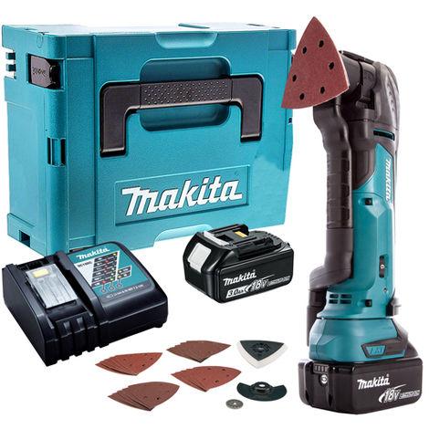 Makita 18V Oscillating Multi Tool Cutter Cordless T4TKIT-53