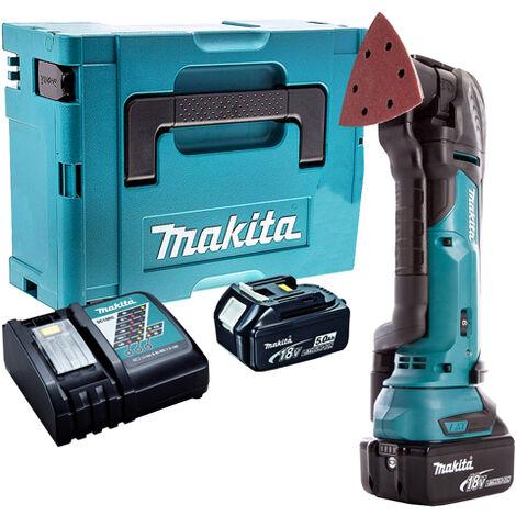 Makita 18V Oscillating Multi Tool Cutter Cordless T4TKIT-58:18V